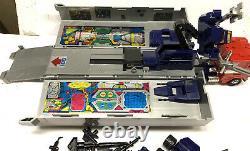 Vintage 1984 Hasbro Transformers G1 Autobot Optimus Prime Box Missing 2 Missiles