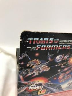 Vintage 1984 Hasbro Transformers G1 Twin Twist Jumpstarter Sealed Box NEW