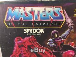 Vintage 1984 Master of the Universe MOTU Spydor (NOT WORKING) Evil Stalker w Box