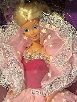 Vintage 1985 Dream Glow Barbie #2248 & Dream Glow Ken 2250 Sealed Box