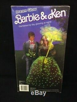 Vintage 1985 Dream Glow Barbie #2248 Sealed Box Made in Taiwan Version