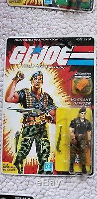 Vintage 1985 GI JOE FLINT WARRANT OFFICER! SEALED-MINT-IN-BOX