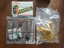 Vintage 1985 GI Joe Serpentor Cobra Emperor with Air Chariot Sealed in Open Box