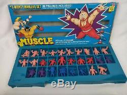 Vintage 1985 M. U. S. C. L. E. Box Set # 1 2 3 & 4 Thugbusters Cosmic Crusaders etc