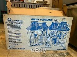 Vintage 1986 Schaper Filmation Ghostbusters Ghost Command 100% Complete With Box