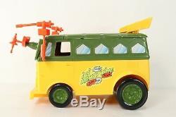 Vintage 1989 TMNT Teenage Mutant Ninja Turtles Bus Party Van Complete NO BOX