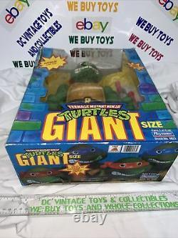 Vintage 1989 Teenage Mutant Ninja Turtles Giant Size New Opened Raphael Tmnt