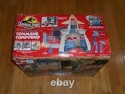 Vintage 1993 Kenner Jurassic Park Command Compound Playset 100% Complete in Box