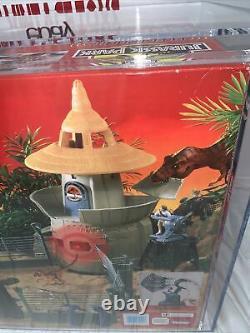 Vintage 1993 Kenner Jurassic Park Command Compound Series 1 AFA 80+ WOW