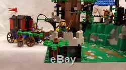 Vintage 1996 Lego Set 6079 Dark Forest Fortress100% complete withbox/instructions