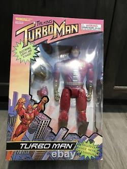 Vintage 1996 Tiger Electronics Turbo Man Factory Sealed Box Turboman