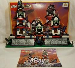 Vintage 1998 Lego Set #6093 Flying Ninja Fortress 100% complete withbox/instruct