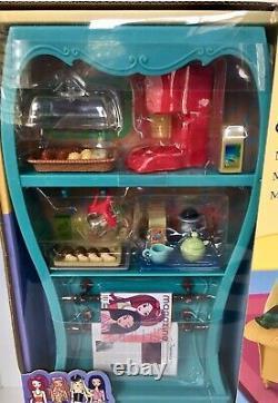 Vintage 2003 Huge! 17 New Sealed Box MY SCENE BARBIE My Cafe Doll Playset
