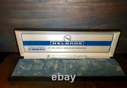 Vintage 60s/70s Helbros NEW OLD STOCK Condition with Plastic & Orig Paper Box