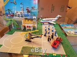 Vintage 6396 Lego International Jetport with Instructions and Box