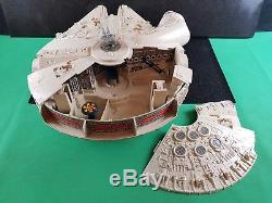 Vintage 80s Star wars ROTJ kenner Millennium Falconboxed Nr complete great con