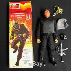 Vintage Action Man Sas Commander Original Boxed Figure