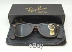 Vintage B&L Ray Ban Bausch & Lomb Tortoise Wayfarer 5022 G15 L2052 withCase & Box
