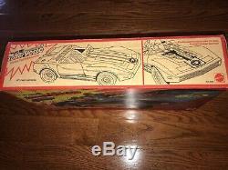 Vintage BIG JIM'S P. A. C. K! 1975, Mattel, Lazer Vette, withOriginal Box Scarce