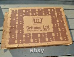 Vintage BRITAINS LTD MODEL ZOO PLAYSET Plastic Near Complete Box & Extras 4712