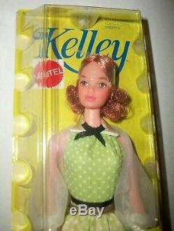 Vintage Barbie Friend Mattel Quick Curl Kelley Doll Nrfb #4221 New In Box 1972