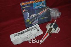 Vintage Battlestar Galactica COLONIAL VIPER w Box 1978 Mattel