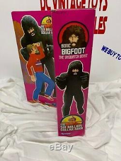 Vintage Bionic Bigfoot The Six Million Dollar Man 1977 Kenner Second Series Box