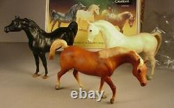 Vintage Breyer 3 Horse set Black Stallion Returns #3030 plastic models in box