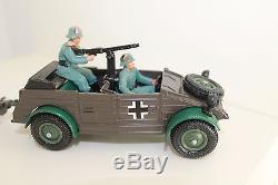 Vintage Britains Army Group 9788 German Kubelwagon and Field Gun Boxed