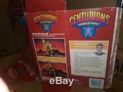 Vintage CENTURIONS Jake Rockwell Figure 100% COMPLETE Kenner 1986 Rare Box