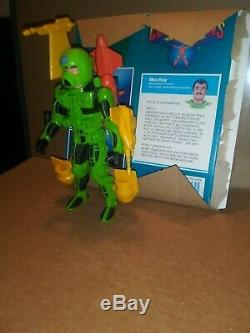 Vintage CENTURIONS MAX RAY Action Figure 100% COMPLETE (Kenner 1986) Rare Box