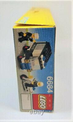 Vintage Classic Town 6684 Police Patrol Squad LEGOLAND Sealed Unopened Box 1984