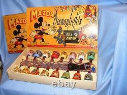Vintage Disney Mazda Disneylights Christmas RARE Lights WORKING 4 Boxes All 16's