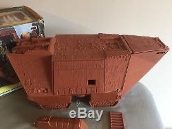 Vintage ESB Star Wars Radio Controlled Jawa Sandcrawler Box Working Electrics