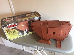 Vintage ESB Star Wars Radio Controlled Jawa Sandcrawler With Original Box
