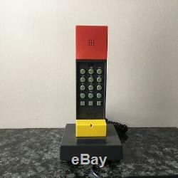 Vintage Ettore Sottsass Enorme Phone 1986 PostModern WithBox 80s MOMA