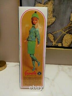 Vintage Francie Barbie Doll NRFB Mod #1130 Original Box