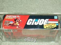 Vintage GI JOE 1984 CAS/AFA 80 ZARTAN & Swamp Skier ARAH HASBRO Series 3 BOXED