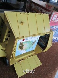 Vintage GI JOE Adventure Team Experimental Mobile Support Vehicle 1972 with Box