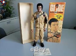 Vintage GI Joe 1964 #7404 Adventurer African American in the Box Hasbro 1970