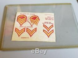 Vintage GI Joe 1964 Action Marine Reg TM stamp from Canada with Box Hasbro