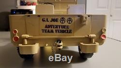 Vintage GI Joe Desert Patrol Adventure Jeep & Accessories 1971 with box