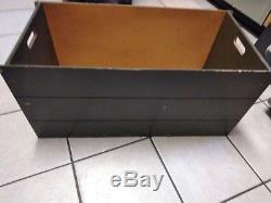 Vintage GI Joe Toy Tool Box Army Green Hasbro foot locker 1983 HASBRO RARE WOW