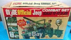 Vintage Hasbro 1960's GI Joe Official Combat Jeep 100% Complete Boxed NMIB