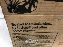 Vintage Hasbro 1975 The Defenders Iron Knight Tank In Original Box 12 GI Joe