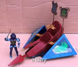 Vintage Hasbro 1987 Visionaries SKY CLAW & MORTDRED Action Figure Complete withbox