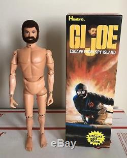 Vintage Hasbro Adventure Team Gi Joe Land Adventurer Escape From Spy Island Box