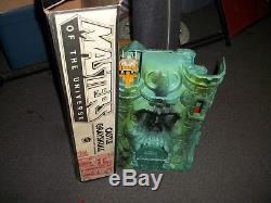 Vintage He-Man Masters of the Universe Castle Grayskull with Accessories and Box