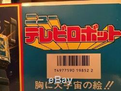 Vintage Horikawa TV 11 Jumbo Mars Great Robot Tin/Plastic Toy Japan Mint in Box