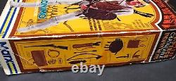 Vintage Johnny West GERONIMO IN BOTW BOX With Storm Cloud Horse Most Accessories